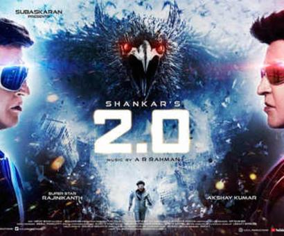 Current Bollywood News & Movies - Indian Movie Reviews, Hindi Music & Gossip - '2.0' is now the sixth highest worldwide grosser this year