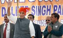 India lost territories to China, Pakistan due to wrong policies of Congress: Rajnath Singh