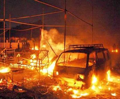 230 shops gutted in Faridabad cracker market fire