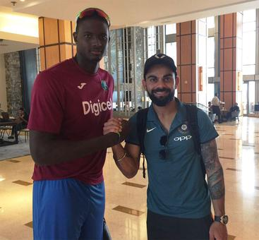 Rediff Cricket - Indian cricket - Kohli and Co. arrive in West Indies amid off-field controversy