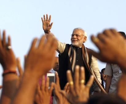 Modi to have 'Madison Square' moment in Tel Aviv