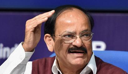 Vice President Naidu blames foreign rule for lack of respect for women