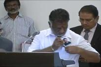 With Jayalalithaa's Photo in Pocket, Panneerselvam Takes Oath as CM