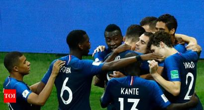 Rediff Sports - Cricket, Indian hockey, Tennis, Football, Chess, Golf - Champions France defied poor stats at World Cup, says FIFA report