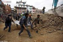Death toll in earthquake-hit Nepal crosses 2,400 as fresh tremors jolt the area, rescue efforts on
