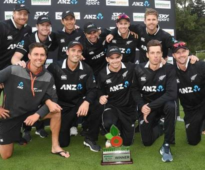 Rediff Cricket - Indian cricket - Southee, Taylor Help New Zealand Whitewash Bangladesh In ODIs