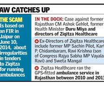 Top Congress leaders named in Rajasthan ambulance scam
