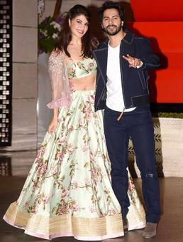 Current Bollywood News & Movies - Indian Movie Reviews, Hindi Music & Gossip - Varun Dhawan reveals a special name for Jacqueline Fernandez in his birthday wish