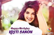 Happy Birthday, Kriti Sanon!