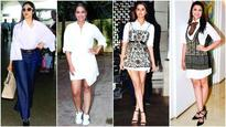 Current Bollywood News & Movies - Indian Movie Reviews, Hindi Music & Gossip - WHITE COLLAR COUTURE: With Shraddha Kapoor and Parineeti Chopra revisiting the classic white shirt in refreshing ways