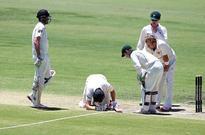 Rediff Sports - Cricket, Indian hockey, Tennis, Football, Chess, Golf - Adam Voges uncertain of Australian cricket future after head blow