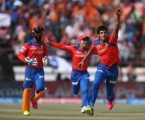 Rediff Cricket - Indian cricket - IPL Highlights - Gujarat Lions vs Kings XI Punjab: Axar Patel's Hat-Trick Guides KXIP to Second Win, GL Lose by 23 Runs