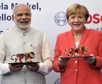 PM Narendra Modi hard-sells India to Germans