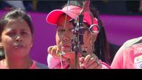 Rediff Sports - Cricket, Indian hockey, Tennis, Football, Chess, Golf - Archery: Indian compound team go down to Columbia in finals; settle for silver in World Championships