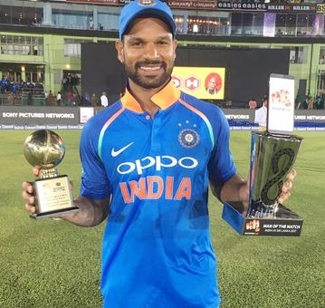 Rediff Sports - Cricket, Indian hockey, Tennis, Football, Chess, Golf - In-form Dhawan sympathises with Sri Lankan team