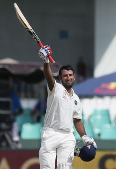 PHOTOS: Pujara makes a strong statement with a fighting century