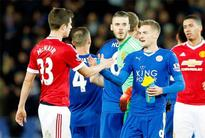 EPL: Record for goal-king Vardy as Leicester hold United