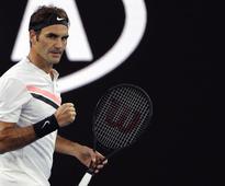 Rediff Sports - Cricket, Indian hockey, Tennis, Football, Chess, Golf - Australian Open: Federer glides into second round