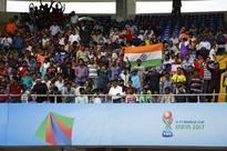 Rediff Sports - Cricket, Indian hockey, Tennis, Football, Chess, Golf - U-17 World Cup: Over 1.5 lakh register for Kolkata semi-final tickets