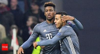Rediff Sports - Cricket, Indian hockey, Tennis, Football, Chess, Golf - Champions League: Bayern Munich top group after six-goal thriller at Ajax