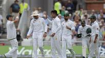 Rediff Cricket - Indian cricket - Ton-up Cook falls at Old Trafford as Amir answers boo-boys