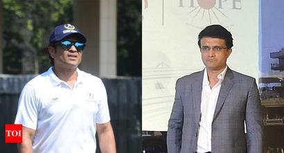 Rediff Sports - Cricket, Indian hockey, Tennis, Football, Chess, Golf - Sachin Tendulkar wants two points, I want the World Cup: Sourav Ganguly