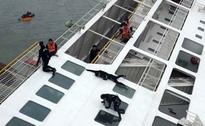 Captain, 2 members arrested in sinking of Korean ferry