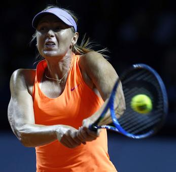 Rediff Sports - Cricket, Indian hockey, Tennis, Football, Chess, Golf - Sharapova marks comeback from doping ban with win over Vinci
