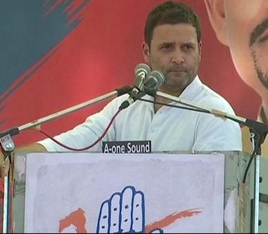When PM clicks a selfie, a Chinese youth gets employment: Rahul