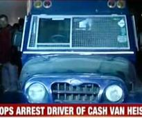 Police nab driver who ran away with Rs 22.5 cr