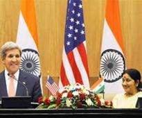 US snooping on BJP unacceptable, Sushma tells Kerry