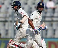 Rediff Cricket - Indian cricket - Mumbai Test: India reply with strong start after England post 400