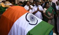 LIVE: Jayalalithaa's funeral to be held at 4:30 pm at MGR memorial; Narendra Modi arrives in Chennai 6 hours ago