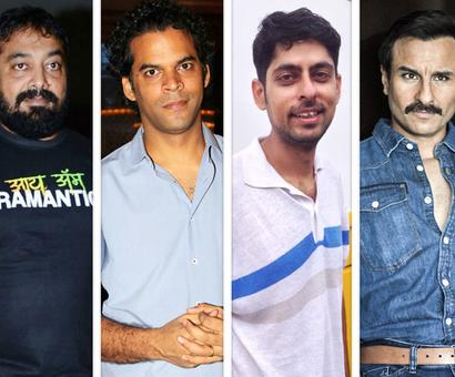 Current Bollywood News & Movies - Indian Movie Reviews, Hindi Music & Gossip - Amid controversy surrounding Anurag Kashyap, Vikramaditya Motwane and Varun Grover, Saif Ali Khan opens up about the future of Sacred Games 2
