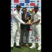 The champions speak after emphatic series win