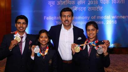 Rediff Cricket - Indian cricket - India will be among top medal winners at 2028 Olympics: Rajyavardhan Singh Rath...