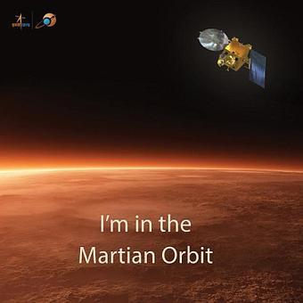 India makes space history! Mangalyaan enters Mars orbit