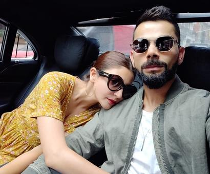 Rediff Cricket - Indian cricket - These Virat-Anushka pictures will melt your heart!