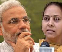 Modi a good speaker, but he should learn from Rahul, says Misa Bharati