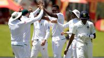 Rediff Sports - Cricket, Indian hockey, Tennis, Football, Chess, Golf - South Africa v/s India: Debutant Ngidi takes six-fer, hosts win test by 135 runs to seal series