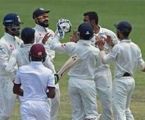 Rediff Cricket - Indian cricket - India beats WI by an innings and 92 runs