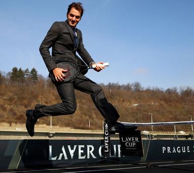 Roger Federer's fantastic photo shoot