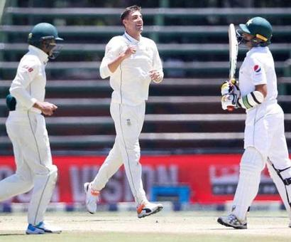 Rediff Cricket - Indian cricket - Duanne Olivier Stars As South Africa Whitewash Pakistan In Test Series