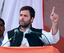 Modi will pay back industrialists with your land: Rahul
