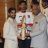 Rediff Cricket - Indian cricket - MS Dhoni conferred with Padma Bhushan, Kidambi Srikanth gets Padma Shri