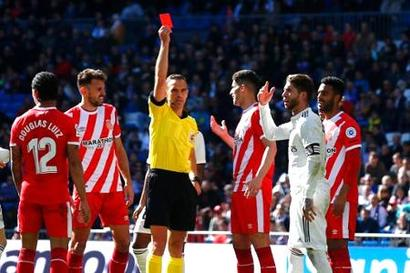 Rediff Sports - Cricket, Indian hockey, Tennis, Football, Chess, Golf - La Liga: Real Madrid stunned by Girona, fall nine behind