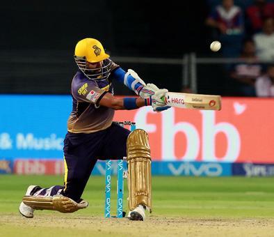 Rediff Sports - Cricket, Indian hockey, Tennis, Football, Chess, Golf - PHOTOS: Brilliant Uthappa powers KKR to top of IPL 10