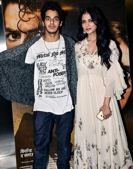 Janhvi roots for her Dhadak co-star Ishaan