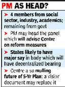 8-member thinktank likely to replace plan panel