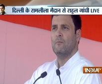 When a farmer goes to bed, he doesn't know what will happen to his land tomorrow: Rahul Gandhi